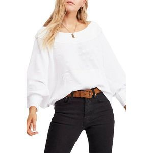 Free People We The Free  Westend Top Thermal White